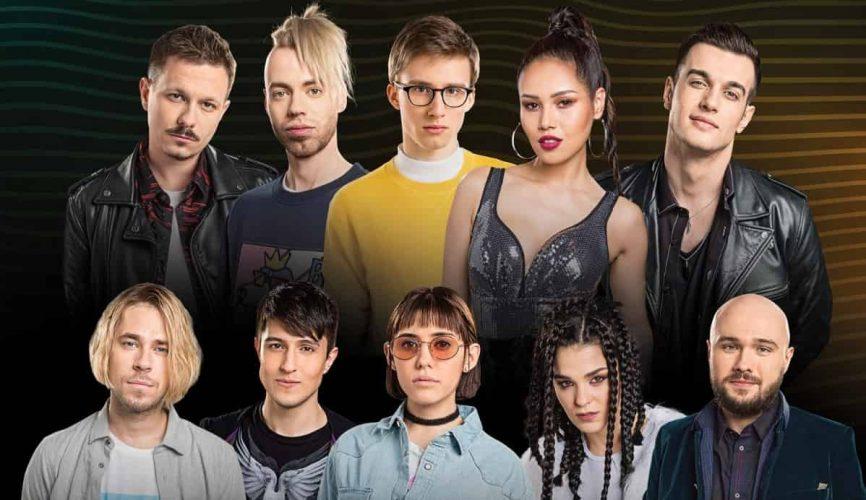 Участники гастрольного тура по городам из шоу Песни на ТНТ 2018