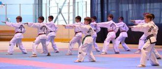 Тхэквондо - вид боевых искусств для детей