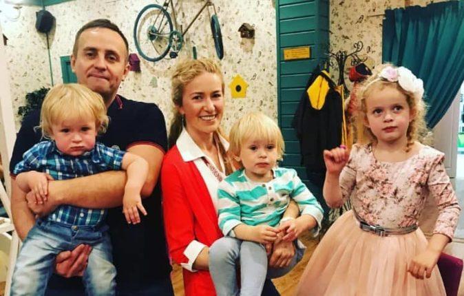 Алексей Ляпоров в кругу семьи