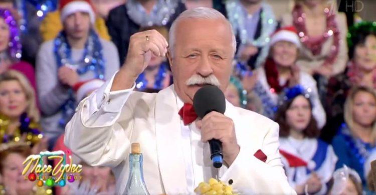 "Леонид Якубович на ""Поле чудес"""
