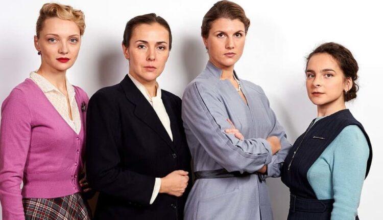 Слева направо: Екатерина Вилкова, Марьяна Спивак, Елена Панова и Яна Дюбуи